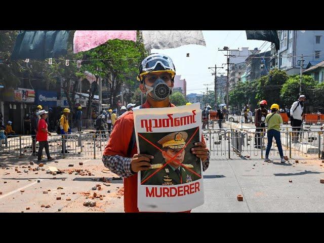 Répression meurtrière en Birmanie : le chef de la junte sanctionné par l'UE