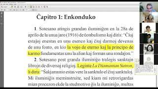 01 | La Sotesana Instruo de Ŭonbulismo | 에스페란토 원불교 대종경 공부 (zoom)