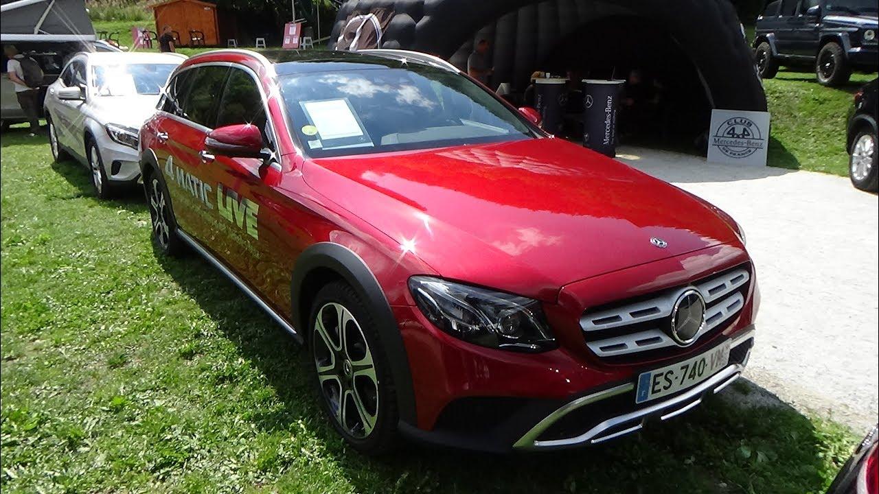 2018 Mercedes-Benz E 350 d 4Matic All-Terrain - Exterior ...