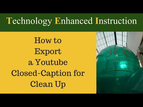 How to Set Up Automatic Closed Caption On Youtube Videos from YouTube · Duration:  3 minutes 39 seconds