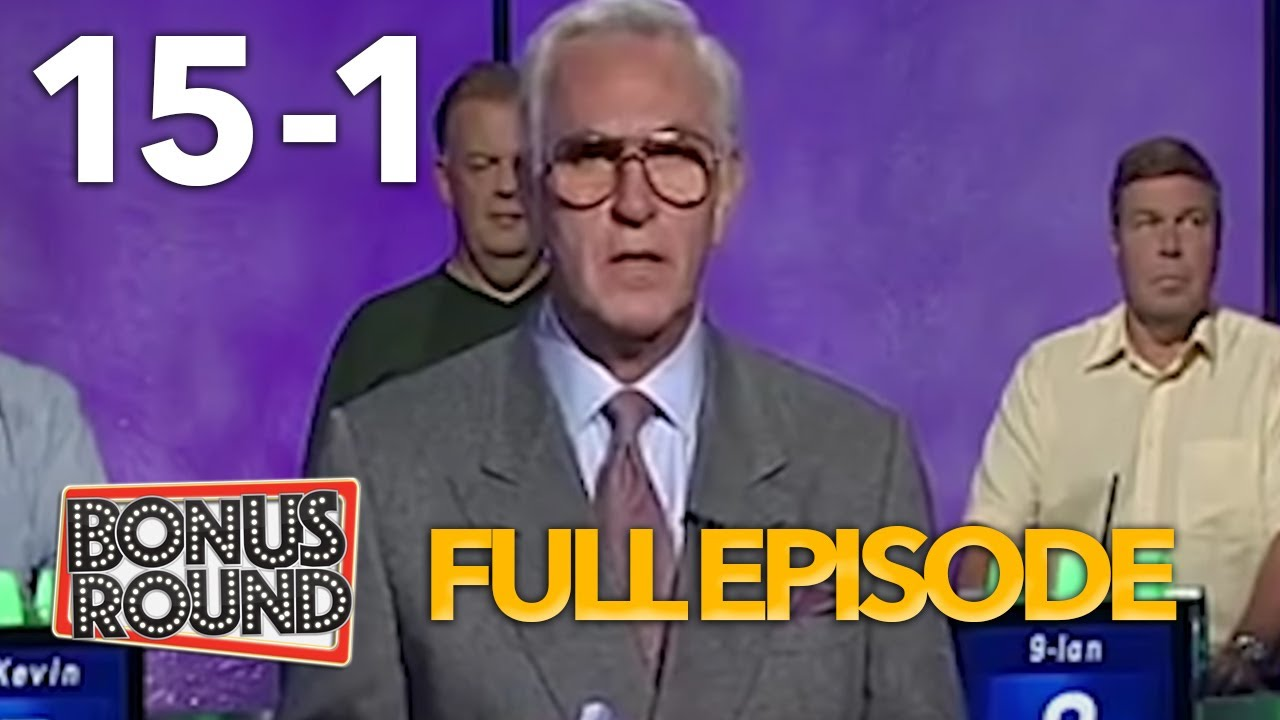 FIFTEEN TO ONE Game Show Full Episode SERIES 31 Episode 15