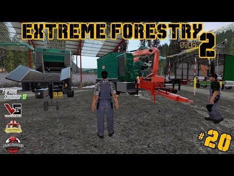 EXTREME FORESTRY STAGIONE 2 | #20 ep. -  LA CIPPATRICE JENZ - FARMING SIMULATOR 17
