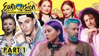 Відбір на Євробачення 2019 Україна - Пісні учасників| Selection for Eurovision 2019 Ukraine - Songs