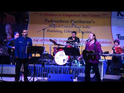 The Awesome Colonial Cousins sing..Sa ni dha pa, in a Live Concert yesterday..