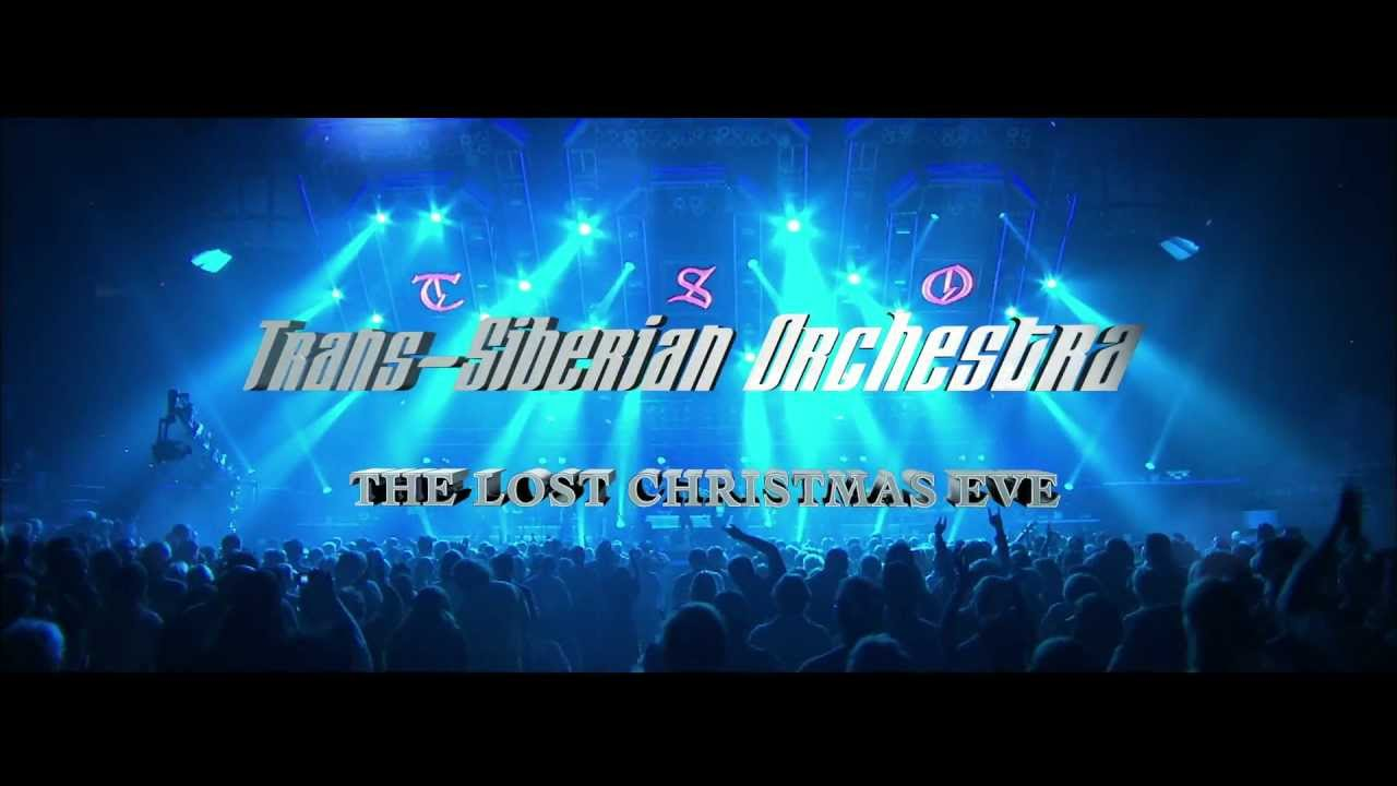 Trans-Siberian Orchestra: The Lost Christmas Eve - YouTube