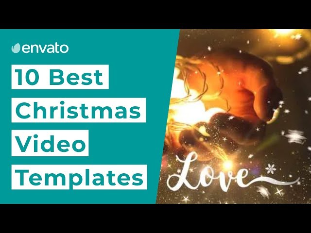 10 Best Christmas Video Templates [2019]