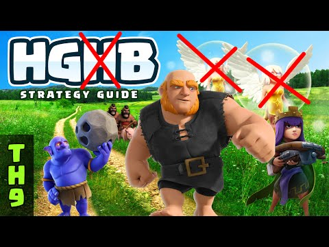 HGB TH9 STRATEGY WITH LOW LEVEL HEROES