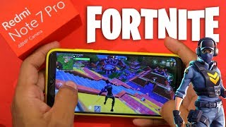 Redmi Note 7 Pro gets Fortnite Mobile Support | Graphics Settings | Game play | Frame rate