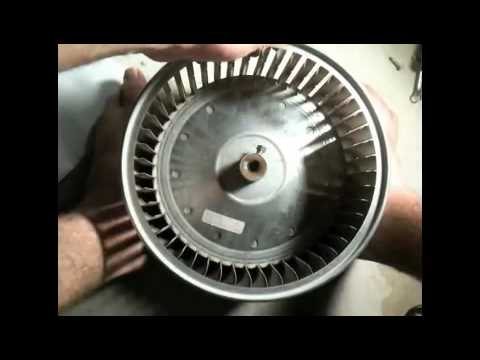 Diy Blower Wheel Replacement Youtube