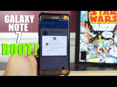 How To ROOT Galaxy Note 7 ALL Exynos Variants