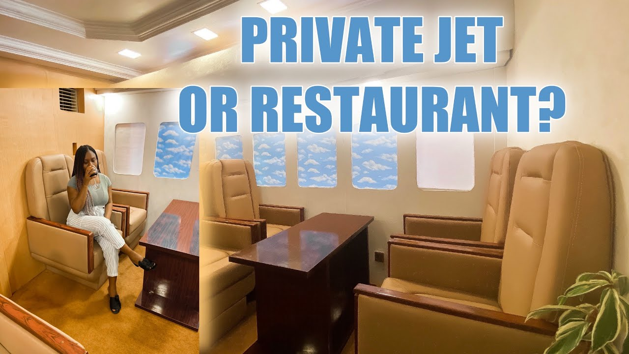 URBAN AIR. Private Jet themed restaurant in Abuja City