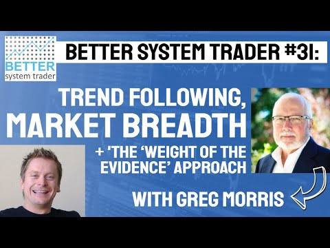 031: Greg  Morris discusses the real meaning of Risk, using Market Breadth and the 'weight of the ev