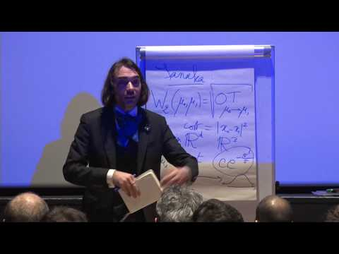 "New Frontiers in Mathematics: Professor Cédric Villani, ""Optimal Transport Theory"""