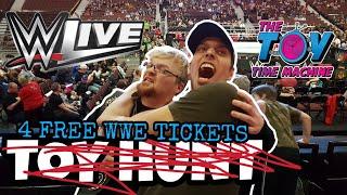 WWE LIVE VLOG OTTAWA THE TOY TIME MACHINE
