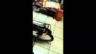 20140128-腳踏車無聊改裝閃爍器+方向器+燈條...等