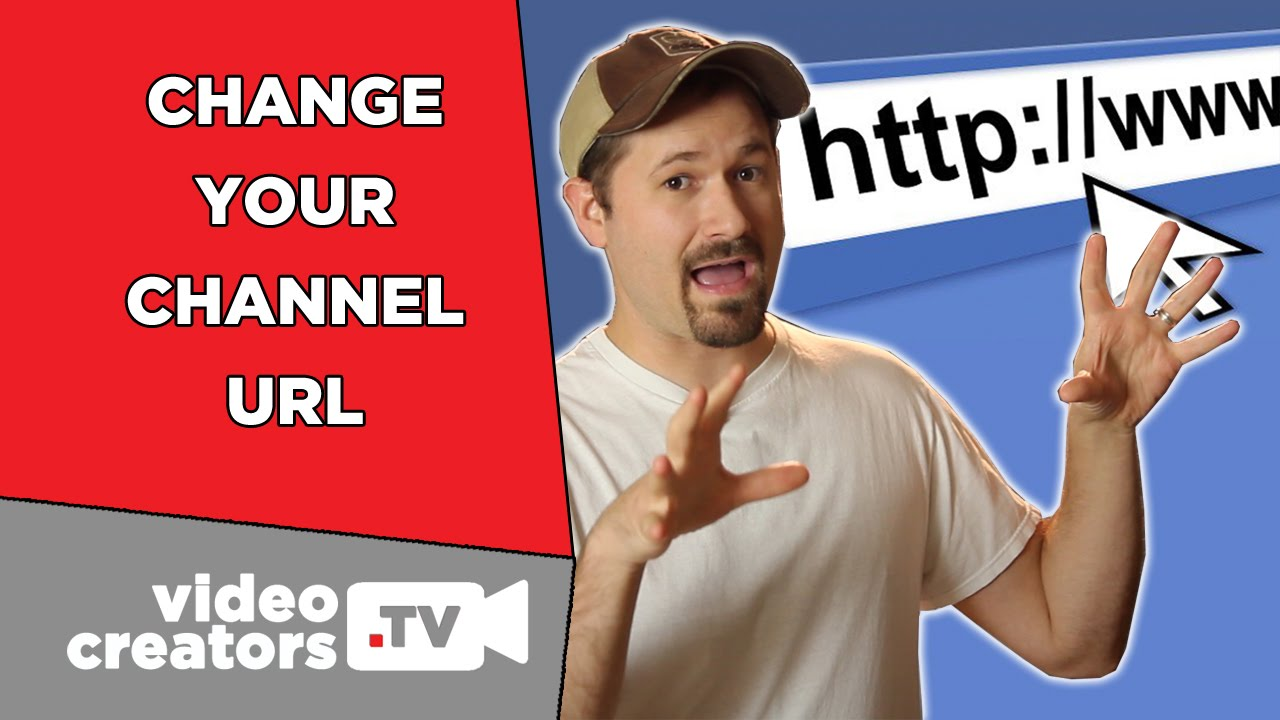 how to change your youtube channel url