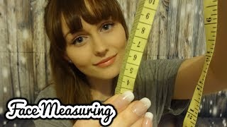 ASMR~Face measuring