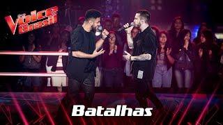 Arthur Henrique e Dreicon cantam 'There's Nothing Holding Me Back' nas Batalhas - The Voice Brasil