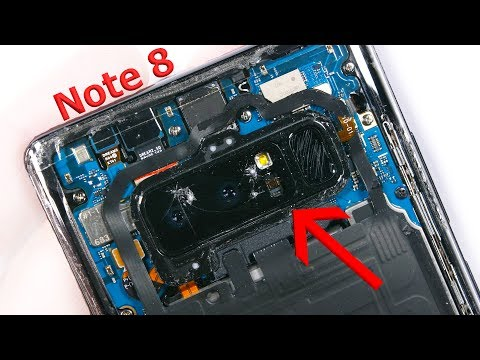 Note 8 Camera Lens Replacement - Cracked Glass fix