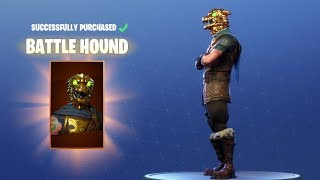 "CRAZY NEW SKIN! Fortnite ""Blood Hound"""