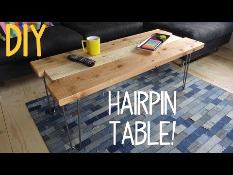 How to Build a Simple Hairpin Table!