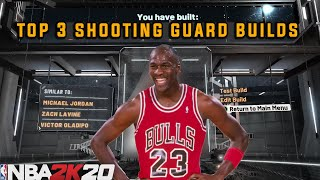 *NEW* TOP 3 SHOOTING GUARD BUILDS IN NBA 2K20! Most OverPowered Broken Archetypes!