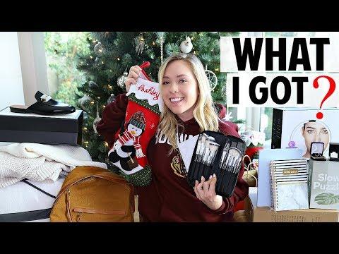 What I Got For Christmas Haul 2018! | Ashley Nichole