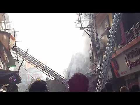 Fire @ Dum Dum Cantonment Gorabazar.