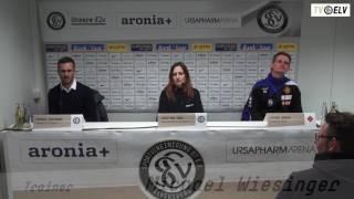 TV Elv // Pressekonferenz - SV Elversberg vs. TuS Koblenz 2:0 / 17.03.17