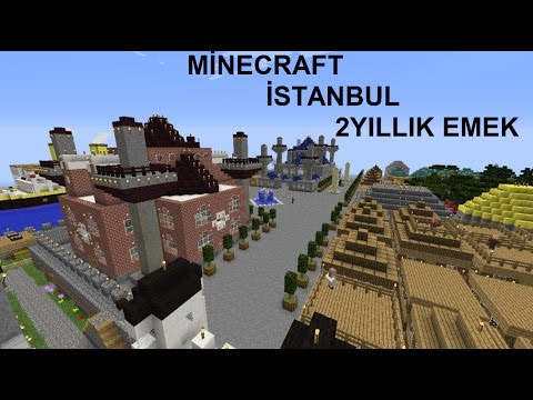 İstanbul Minecraft 2 Yıllık Emek