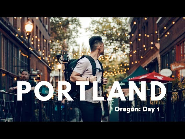 Downtown Portland | Travel Vlog: Oregon Day 1