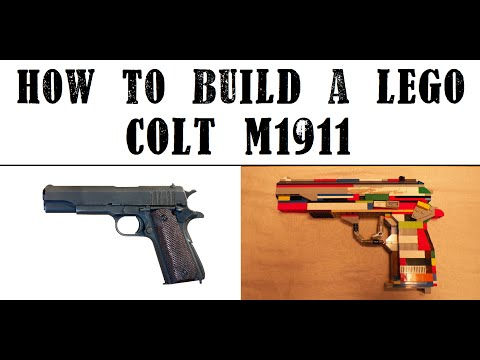 Lego Colt M1911 Instructions Part 1