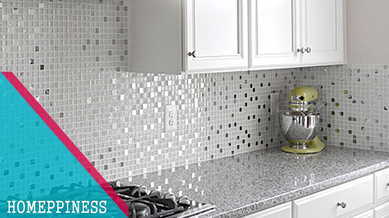 - MUST WATCH) 20+ Low Budget Kitchen Backsplash Materials That Will Save Your  Money - YouTube