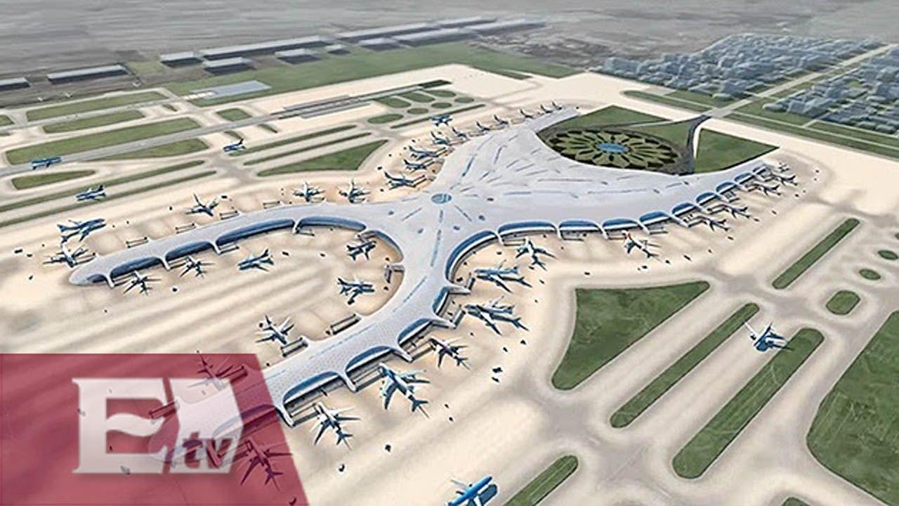 Inicia la construcci n del nuevo aeropuerto de la ciudad for Puerta 6 aeropuerto ciudad mexico