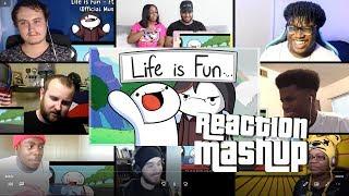 Life is fun - ft. boyinaband REACTIONS MASHUP