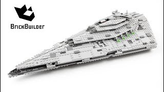Lego Star Wars 75190 First Order Star Destroyer - Lego Speed Build
