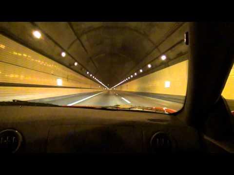 360モデナ Aライントンネル車内。ハンディカム撮影 カメラ:HDR-CX590V.