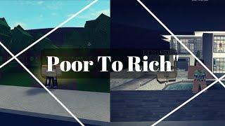 Poor to Rich! | Short Bloxburg Movie | ROBLOX