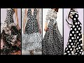 outstanding most trendy polka dot middi dresses collection in black and white