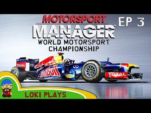 🚗🏁 Motorsport Manager PC - Lets Play EP3 - Loki Doki Don't Crash - World Motorsport Championship