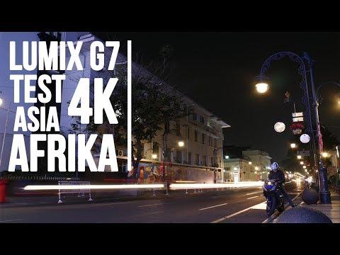 Tes Lumix G7k Resolusi 4K - Asia Afrika [Baca Deskripsi]