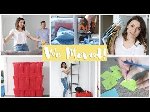 We're Moving!! Sneak Peek of NEW Apartment + Moving Hacks!