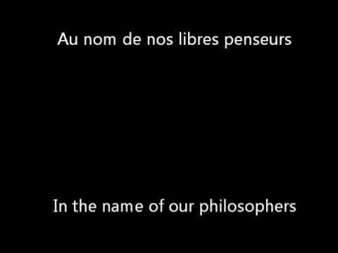 1789 Les Amants de la Bastille  Pour la Peine English Translation