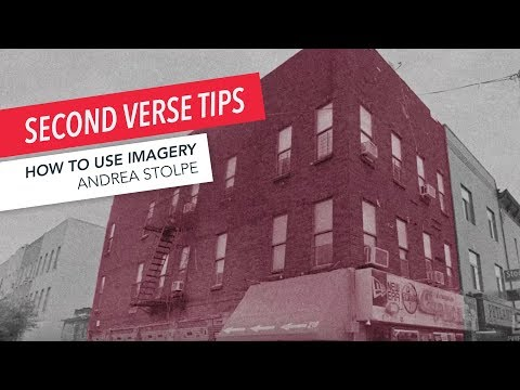 How to Write a Song: Imagery Tips for the Second Verse | Part 8/9 | Andrea Stolpe