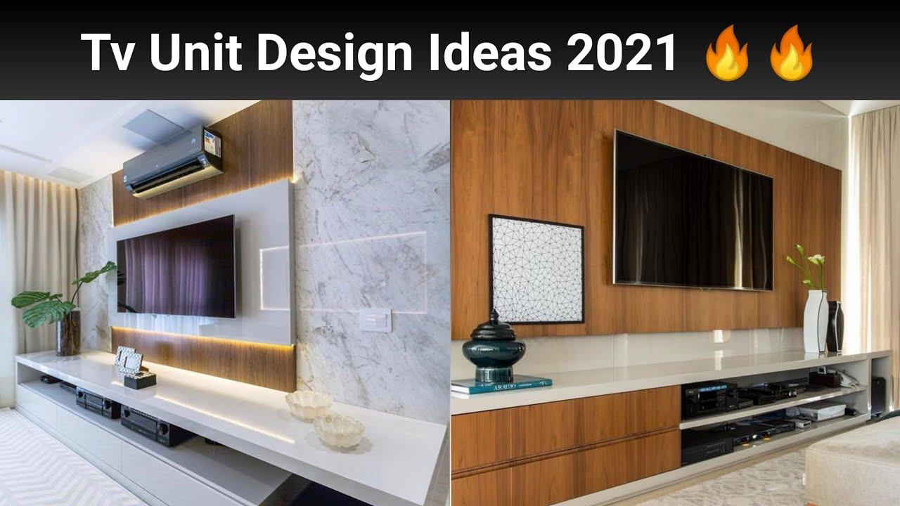 Best TV Unit Design 20   Modern TV Cabinet Design for Living Room  interiorindori