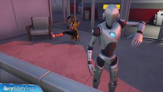 Make a Stark Robot Dance Challenge Guide - Fortnite