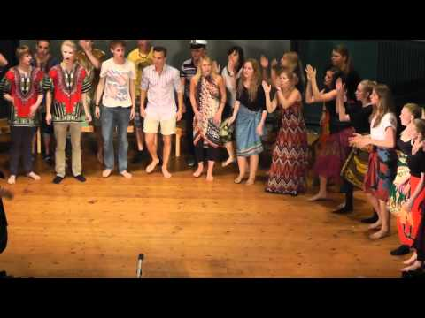 Shosholoza African Folk Song  Choir Performance  N3A of Kungsholmens Gymnasium 2011