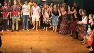 Shosholoza (African Folk Song) - Choir Performance by N3A of Kungsholmens Gymnasium 2011