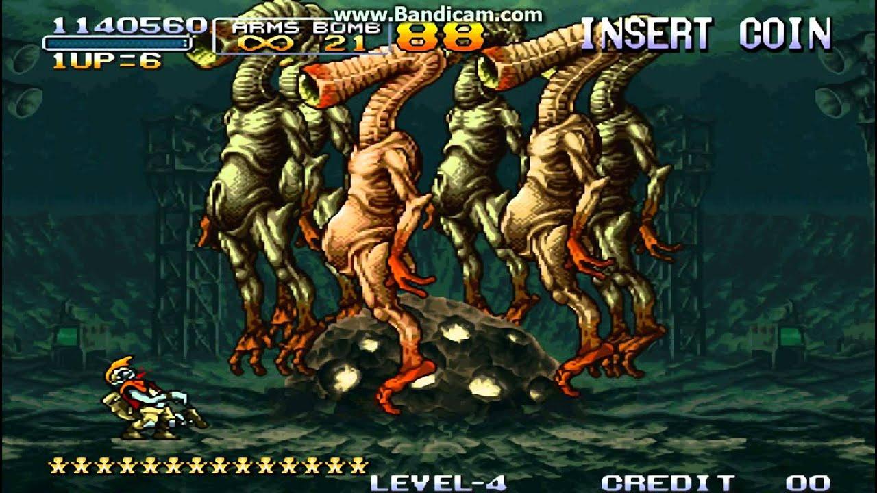 Metal Slug 3(越南大戰 3) Mission 2 - Boss Battle (Zombie Ver.) - YouTube