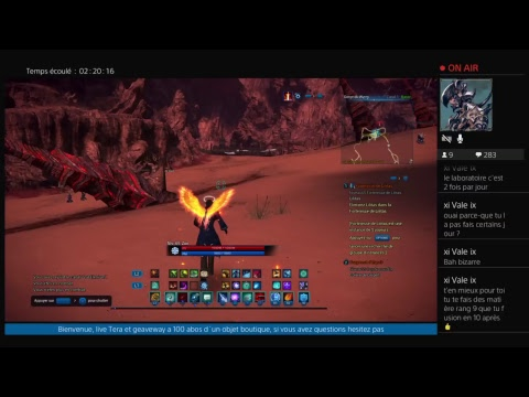 [FR][TERA][PS4] on test lilithas et pvp / geaveway a 200 abos ( partie 2 )